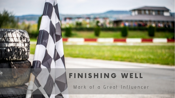Finishing Well: A Mark of a Great Leader